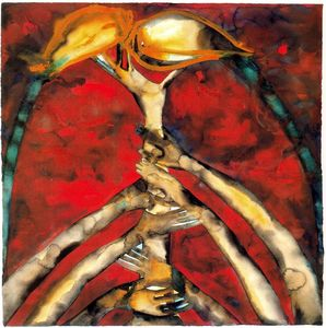 Francesco Clemente - Untitled (866)