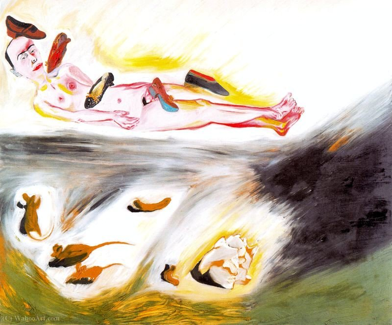 Untitled (131) von Francesco Clemente