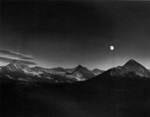 Ansel Adams - Herbstmond