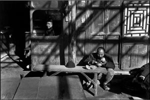 Henri Cartier-Bresson - Pekin china Groß