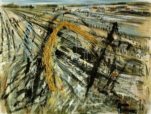 Anselm Kiefer - Goldhaar