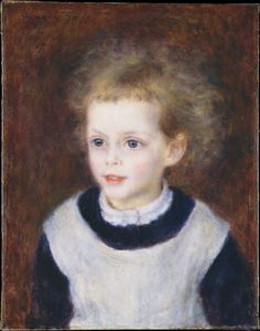 Auguste Renoir - Marguerite-Thérèse (Margot) Be..
