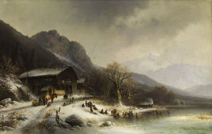 Anton Doll - Winterlandschaft