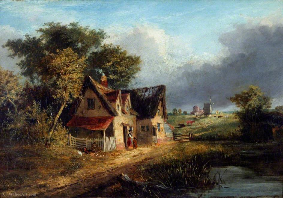 Landschaft von George Vincent (1796-1831, United Kingdom)