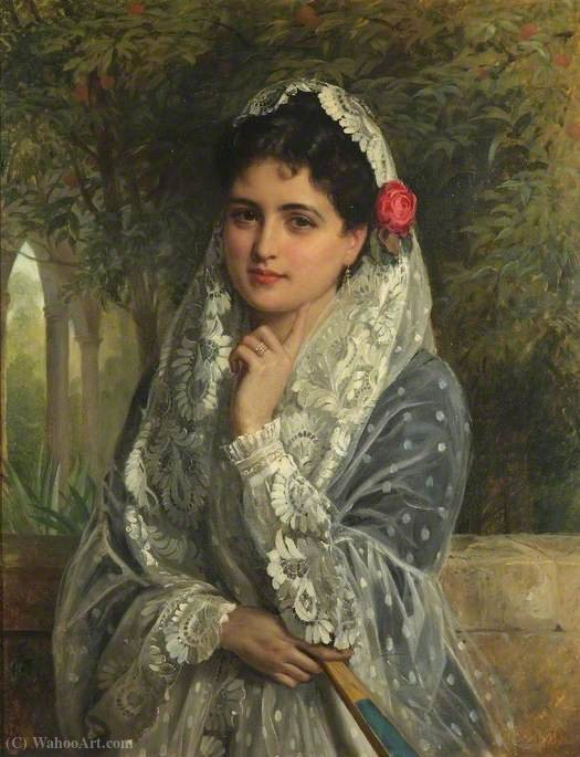 The Pride of Seville von John Bagnold Burgess (1829-1897, United Kingdom)