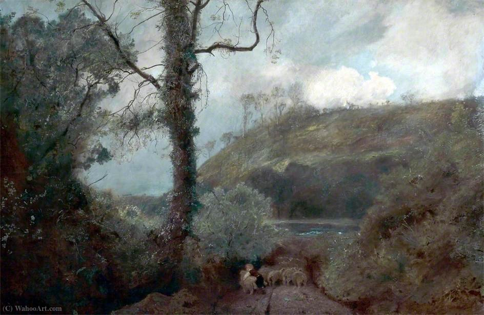 Früher Frühling von John William North (1842-1924, United Kingdom)