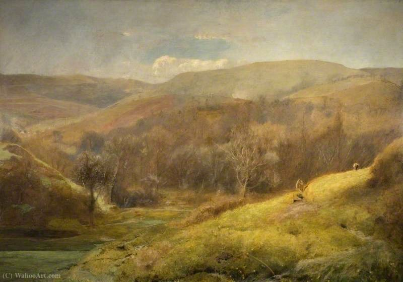 The Sweet Meadow Waters of the West von John William North (1842-1924, United Kingdom)