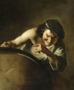 Paulus Moreelse - Demokrit