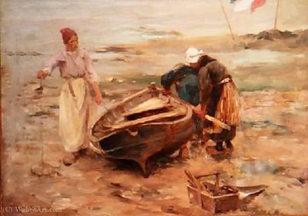 Scottish fisherwives von Robert Mcgregor (1847-1922, United Kingdom) | ArtsDot.com