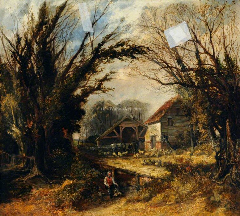 Landschaft von Thomas Colman Dibdin (1810-1893, United Kingdom)