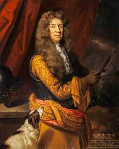 Godfrey Kneller - lord charles murray , 1st..