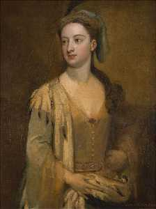 Godfrey Kneller - Dame Maria wortley montagu