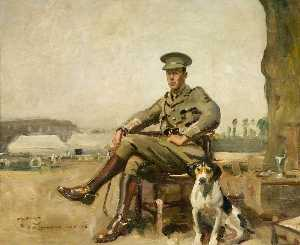 Alfred James Munnings - R . W . Sutherland , kava..
