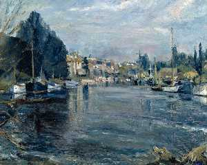 Ronald Ossory Dunlop - die themse bei sunbury
