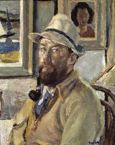 Ronald Ossory Dunlop - Ich selbst mit Cadger's R..