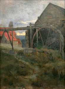 James Campbell Noble - Ein Watermill