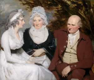Henry Raeburn - Klo und betty johnstone und miss wedderburn