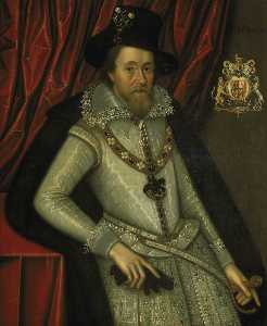 John De Critz The Elder - James Ich ( 1566–1625 )
