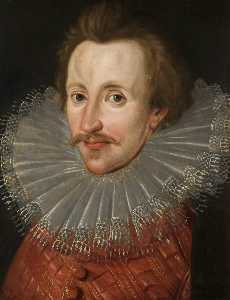 John De Critz The Elder - sir philip sidney ( 1554–1586 )