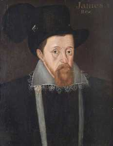 John De Critz The Elder - König James Ich ( 1566–1625 )