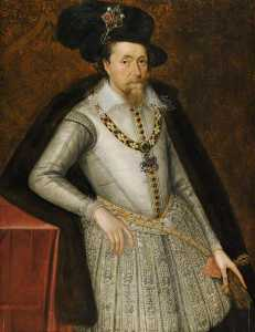 John De Critz The Elder - james vi Ich ( 1566–1625 )