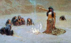 John Charles Dollman - Studieren für -The Unknown-