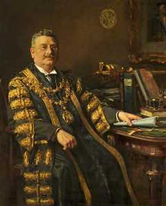Frank Richards - Stadtrat harry j . Thwaites ( 1869–1931 ) , Bürgermeister von bournemouth ( 1925–1927 )