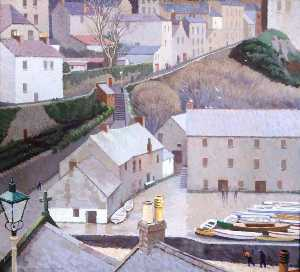 Sam Morse Brown - grau tag , Tenby