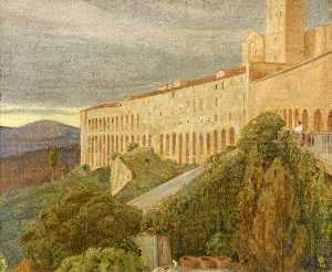 Charles March Gere - Assisi , Italien
