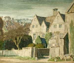 Charles March Gere - Holcombe Haus , Painswick..