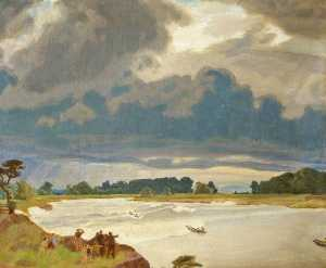 Charles March Gere - der severn Bohrung