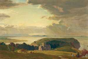 Charles March Gere - tennyson bei clevedon , S..