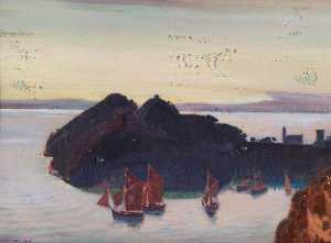 Charles March Gere - Portofino