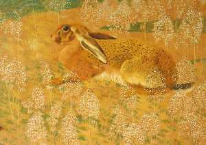 Charles Frederick Tunnicl.. - sitzend Hase
