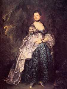Thomas Gainsborough - Dame Alston