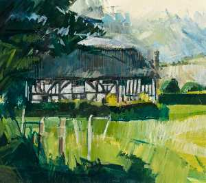 Eileen Hogan - Alfriston Geistliche Haus , east sussex