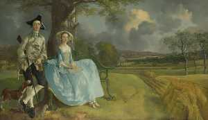 Thomas Gainsborough - Herr und mrs Andrews