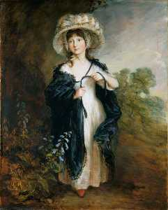 Thomas Gainsborough - fräulein elizabeth Haverfield