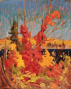 Thomas Clement Thompson - Herbst-Laub