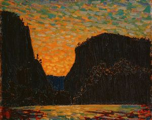 Thomas Clement Thompson - Petawawa Gorges, Nacht