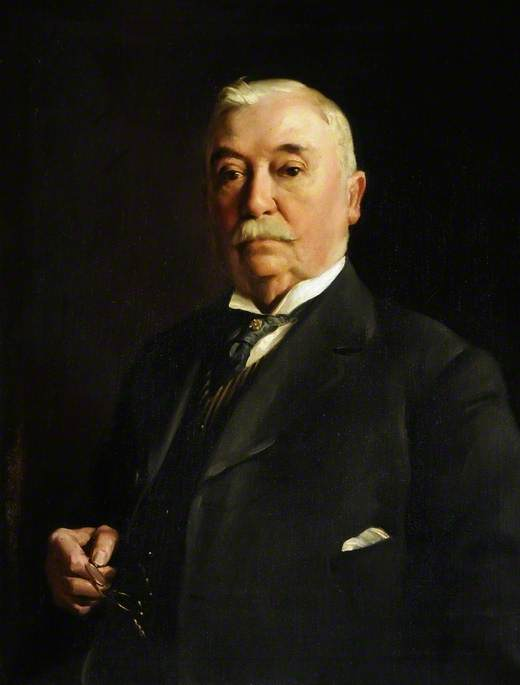 thomas newbould ( 1845–1933 ), 1921 von David Jagger (1891-1958, United Kingdom) | Museum Qualität Reproduktionen | ArtsDot.com